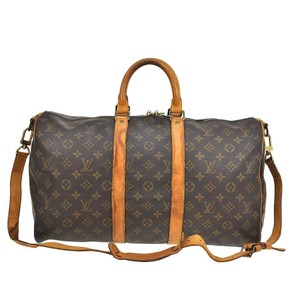 Louis Vuitton Keepall Brown Travel Bag