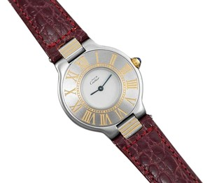 Cartier Must De Cartier 21C Ladies Watch - Stainless Steel & 18K Gold