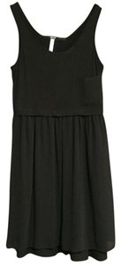 Kensie short dress Black on Tradesy