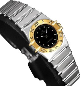 Omega Omega Ladies Constellation Mini 22mm Watch, 18K Gold & Stainless Steel