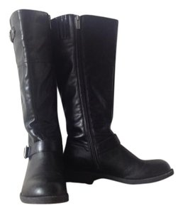 Kenneth Cole Riding Black Boots