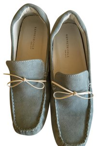 Kenneth Cole Suede Loafer Light Blue Flats