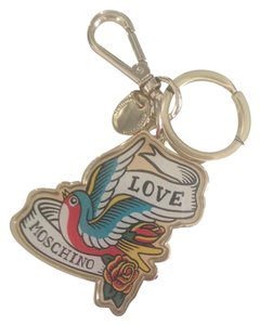 Love Moschino Love Moschino Keychain/Bag Charm with Dove