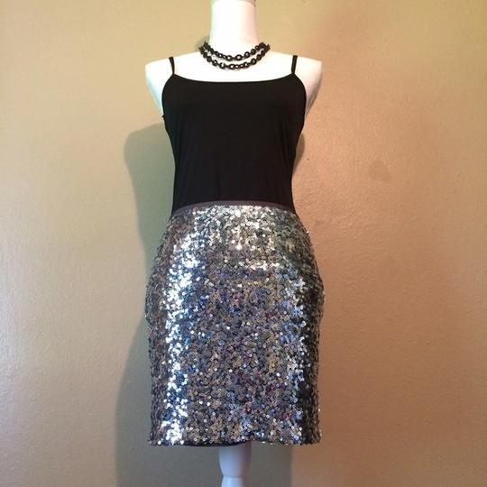 2a19cf6e52bd White House | Black Market Mini Skirt - 62% Off Retail lovely · This silver  sequined ...