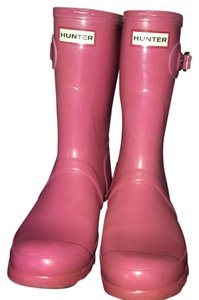 Hunter Hot pink Boots