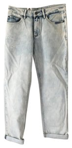 Roxy Acid Wash Vintage Straight Leg Jeans-Acid