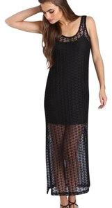 Black Maxi Dress by L*Space Maxi Cover Up Beach Resort Festival