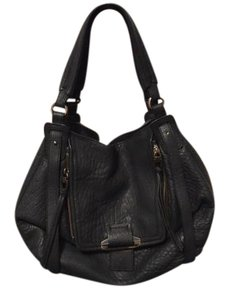 Kooba Leather Magnetic Closure Hobo Bag