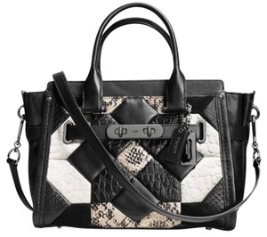 Canyon Wuilt Swagger 27 carryall in Exotic Embossed leather Cross Body Bag