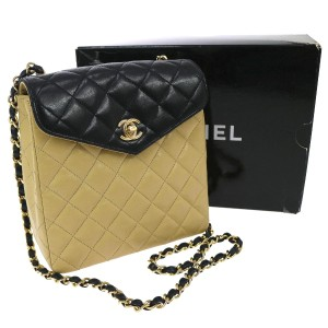 Chanel Vintage Flap Cross Body Bag