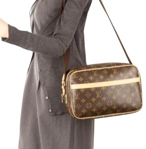 Authentic Louis vuitton Reporter MM Cross Body Bag