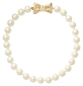Kate Spade all wrapped up pearls necklace