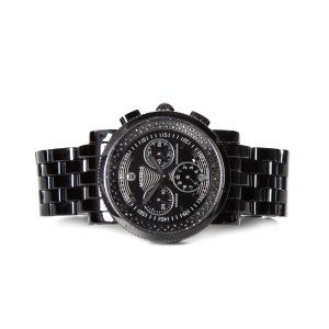 Michele Michele Black Ceramic Stainless Steel Watch