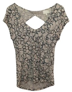 Anthropologie Top Beige/teal