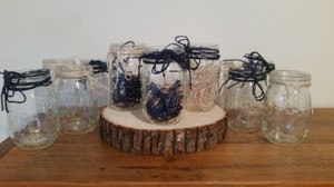 Wrapped Mason Jars - Nautical Theme Pack