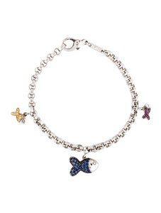 Chopard CHOPARD 18K HAPPY FISH CHARM BRACELET