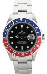 Rolex Rolex Gmt II With Blue And Red Bezel Pre-Owned 40mm