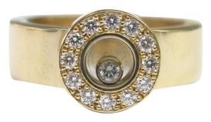 Chopard Chopard 18KT Happy Diamond Round Ring EU Size 52