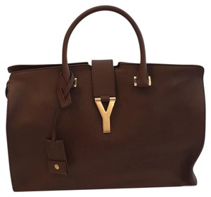 Saint Laurent Satchel in Caramel
