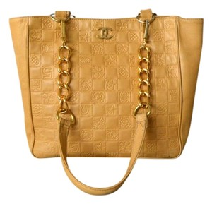 Chanel Fairy Quilted Tote in Beige