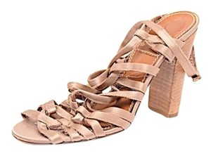 Lanvin Ete 2010 Distressed Gladiator Bronze Pumps
