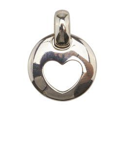 Tiffany & Co. Tiffany & Co. 1999 Sterling Silver Heart Pendant
