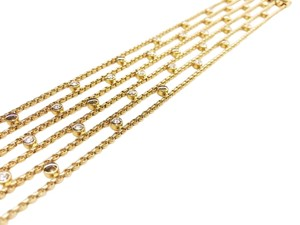 Chopard Chopard Happy Diamond 18K Yellow Gold Bracelet