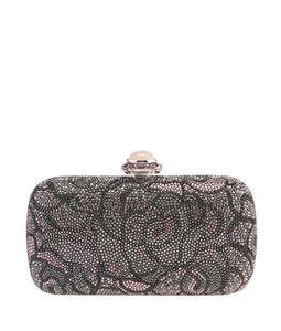 Judith Leiber Crystal Metal Multi-Color Clutch