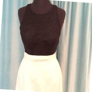 Val Stefani Black/Whitw Dress