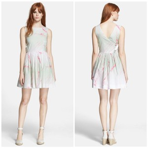 Marc by Marc Jacobs short dress Mint / Pink on Tradesy