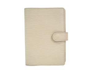 Louis Vuitton Louis Vuitton Ivory Nude Beige Epi Leather Six Ring Agenda