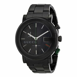 Gucci Gucci Men Black Watch YA101331