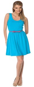 Lilly Pulitzer short dress Turquoise Lilly Sleeveless on Tradesy