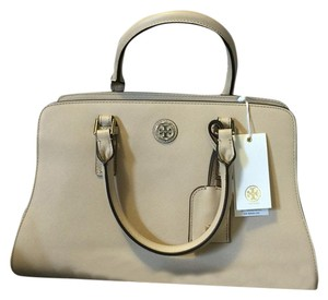 Tory Burch Satchel in 2 tone color