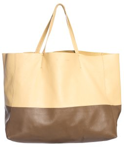 Céline Tote in yellow & brown