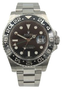 Rolex Rolex GMT Master II Date 40mm Style Number 116710 Box/Papers
