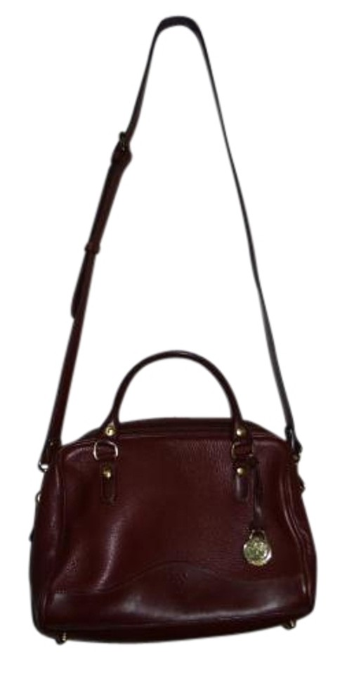 Timberland Satchel In Ox Blood