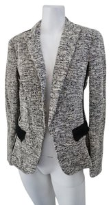 Rag & Bone & Lightweight & Tweed Business Casual Black & White Jacket