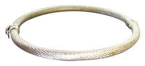 Sterling Silver Mesh Bangle, Thailand