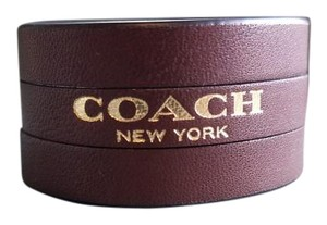 Coach *Ships Next Day* Coach leather bracelet