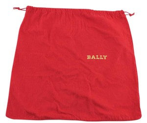 Bally #8800 Bally red dust bag Large 16.5 X 16 Tote Bag
