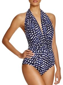 Robin Piccone ROBIN PICCONE AUDREY PLUNGE HALTER ONE PIECE SWIMSUIT 6