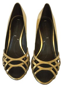 BCBGMAXAZRIA Gold Formal