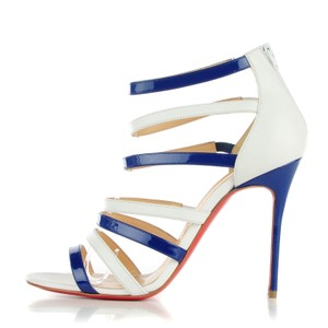 Christian Louboutin Blues and White Sandals