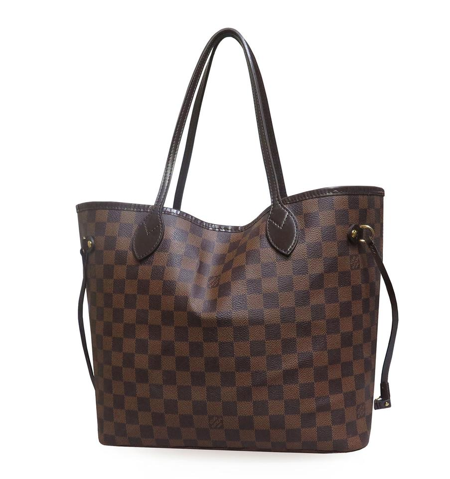louis vuitton sale neverfull mm damier tote bag on sale 28 off totes on sale. Black Bedroom Furniture Sets. Home Design Ideas