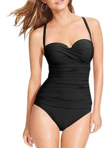 Profile PROFILE BY GOTTEX BLACK ONE PIECE SWIMSUIT 6D