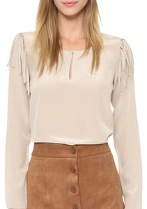Rory Beca Button Down Shirt Beige
