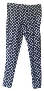 Faded Glory Navy with white dots - Girls Size XL (14-16) Leggings