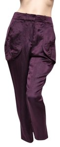 Les Copains 42it Euc Soft Italian Capris Purple