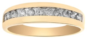 Avital & Co Jewelry 0.50 Carat Diamond Men's Wedding Band 14k Yellow Gold Ring